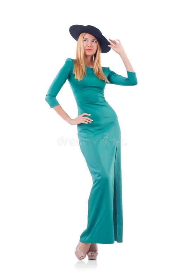 Молодая женщина в моде стоковая фотография rf