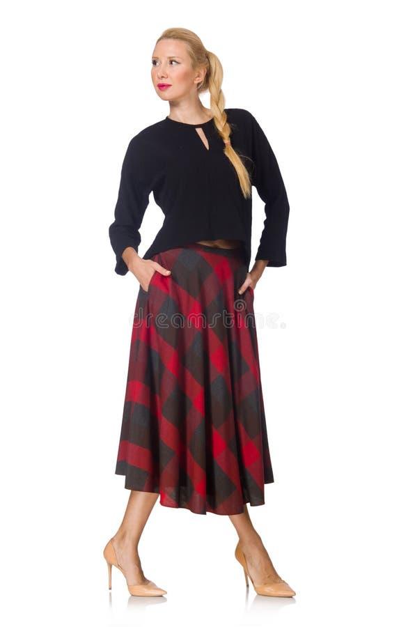 Молодая женщина в моде стоковые изображения rf