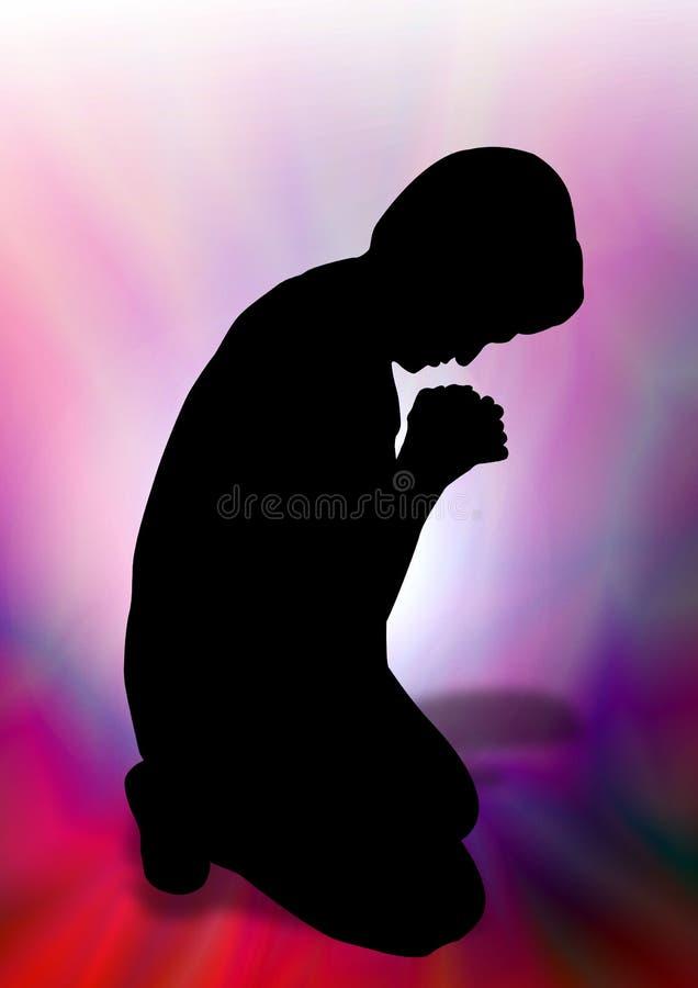 Молить женщины стоковое фото rf