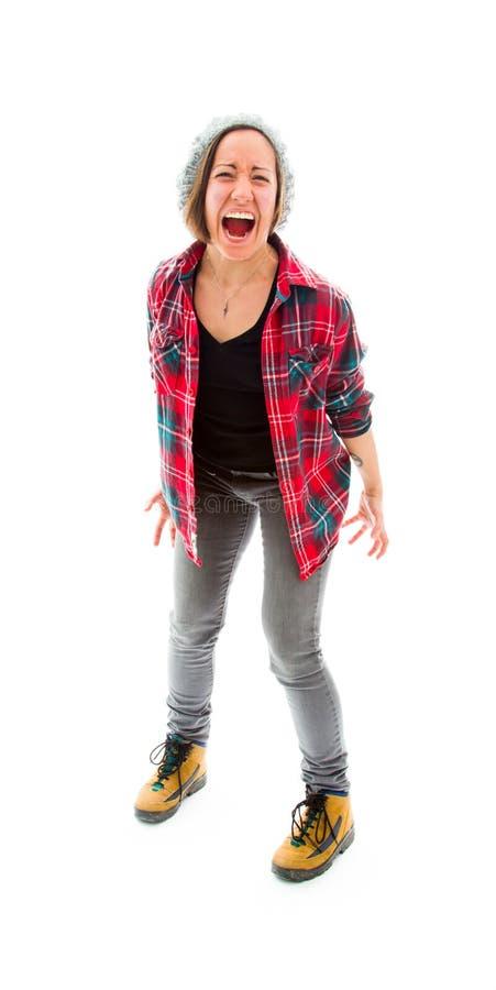 Download Молодая женщина смотря расстроенный Стоковое Фото - изображение насчитывающей женщина, съемка: 41650764