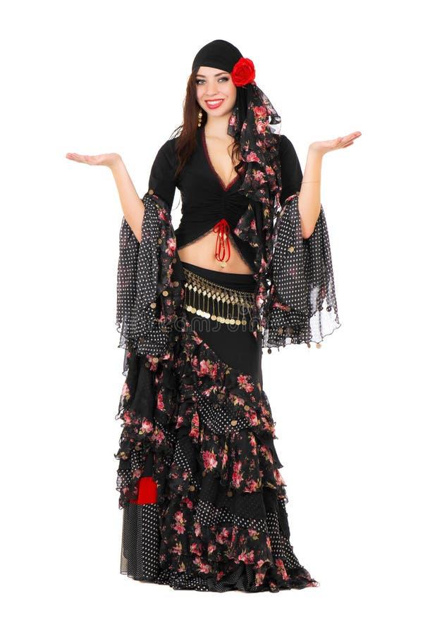 Download Молодая женщина romany стоковое фото. изображение насчитывающей красивейшее - 37926054