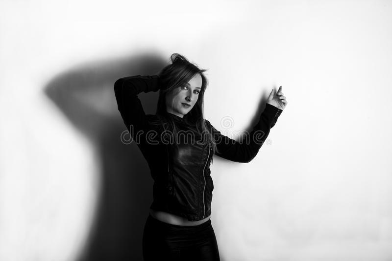 Молодая кавказская девушка стоковые изображения rf