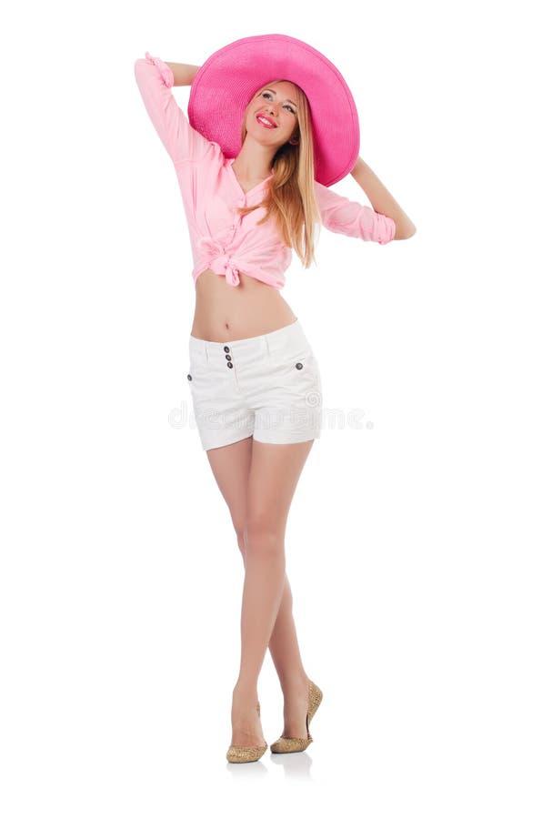 Молодая модель танцев стоковое фото rf