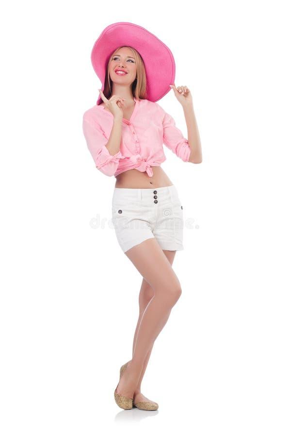 Молодая модель танцев стоковые изображения