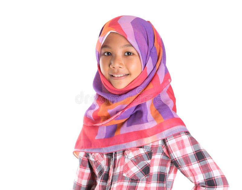 Молодая мусульманская девушка i стоковое фото