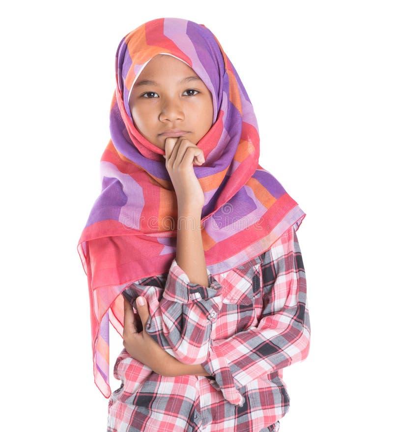 Молодая мусульманская девушка III стоковые изображения