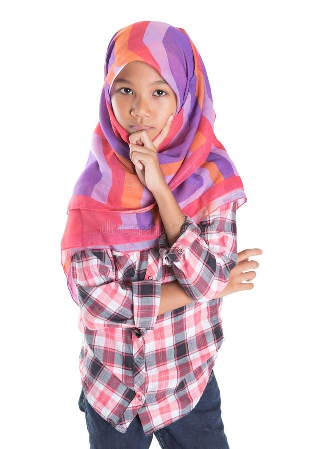Молодая мусульманская девушка IV стоковые изображения rf