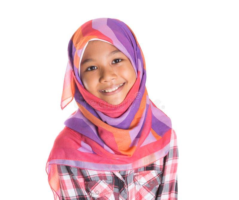 Молодая мусульманская девушка IX стоковое фото