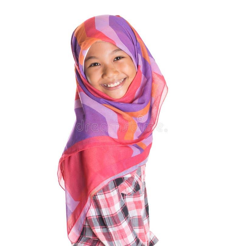 Молодая мусульманская девушка VI стоковое изображение