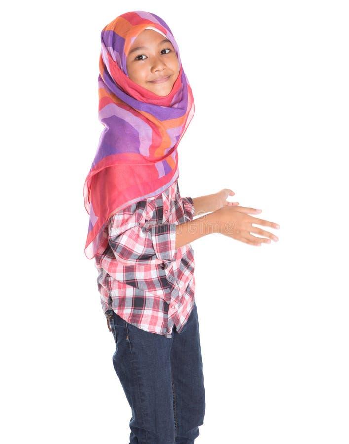 Молодая мусульманская девушка VII стоковая фотография