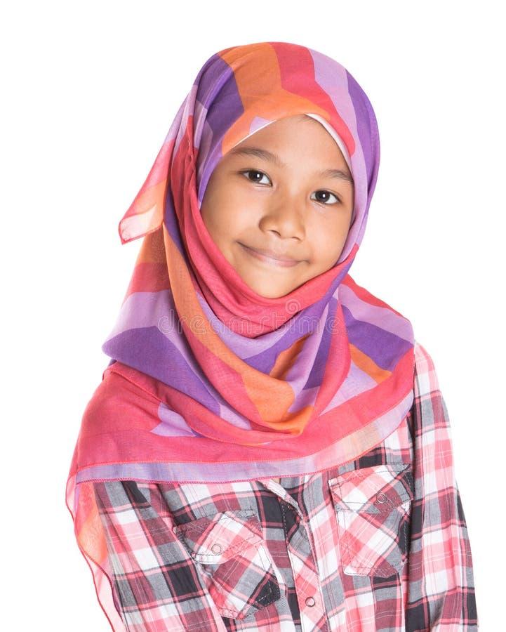Молодая мусульманская девушка VIII стоковые изображения rf