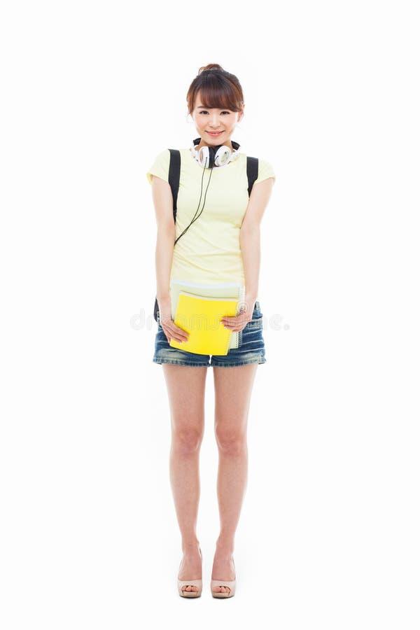 Молодой азиатский студент стоковые изображения rf