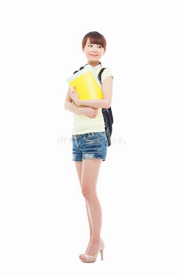 Молодой азиатский студент стоковые фото