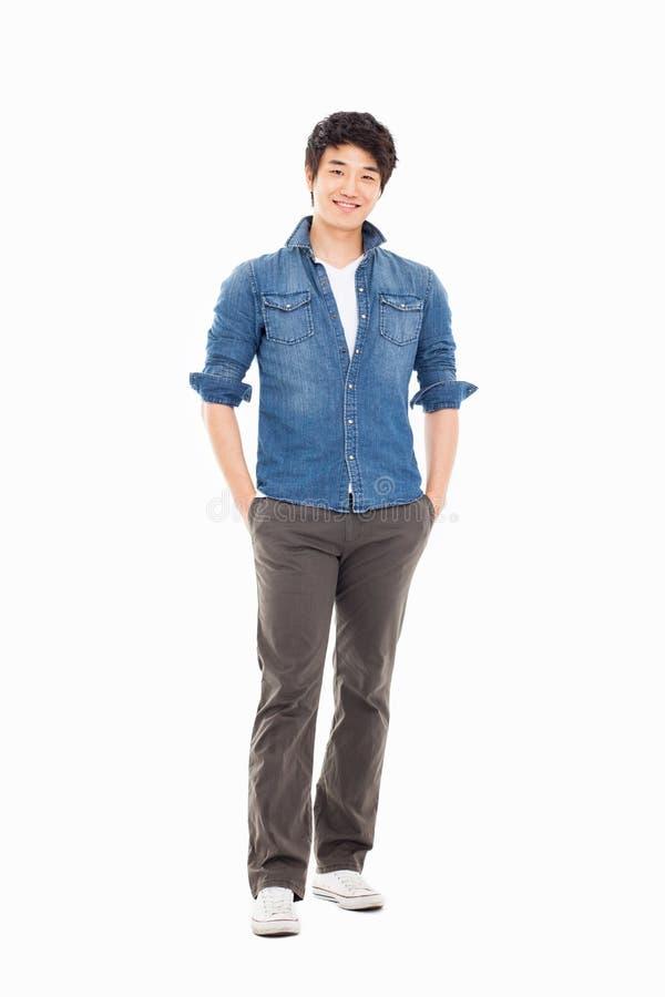 Молодой азиатский человек стоковое изображение