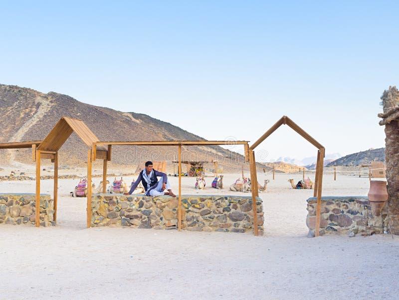 Молодой бедуин стоковые изображения rf