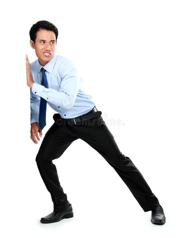 Download Молодой бизнесмен нажимая пустую доску Стоковое Фото - изображение насчитывающей одно, adulteration: 37927350