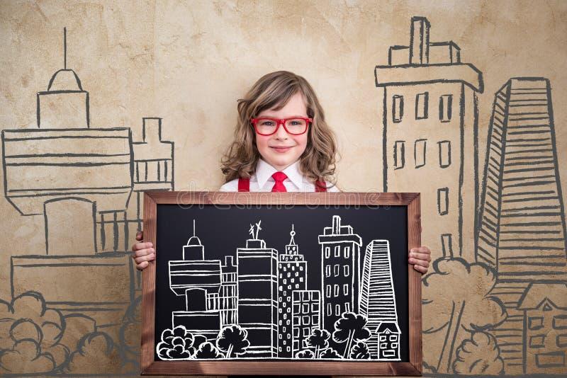 Молодой бизнесмен иллюстрация вектора