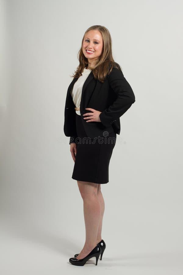 Молодой женский профессионал стоковое фото rf