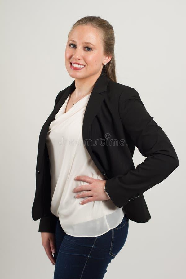 Молодой женский профессионал стоковые фотографии rf