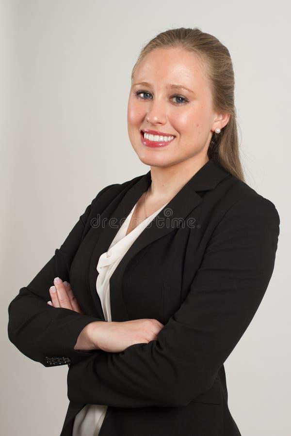 Молодой женский профессионал стоковое изображение rf