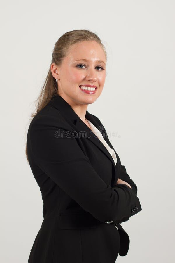 Молодой женский профессионал стоковые изображения rf