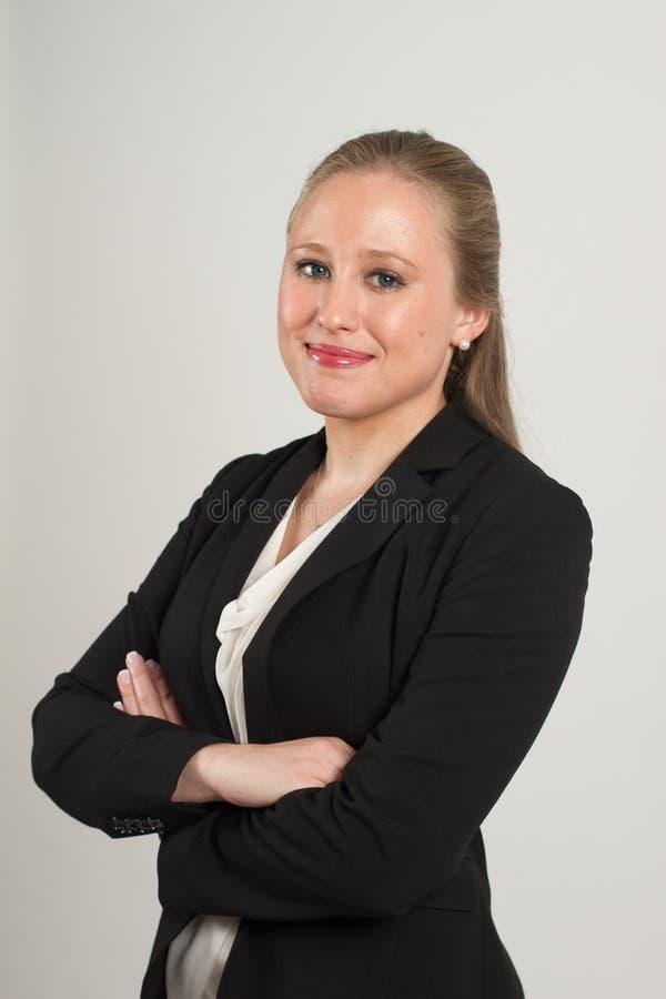 Молодой женский профессионал стоковая фотография rf