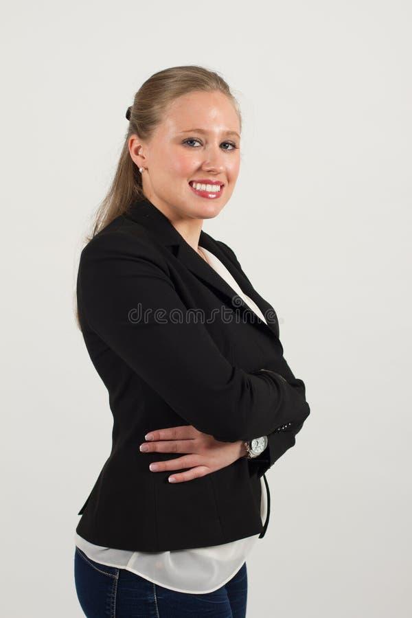 Молодой женский профессионал стоковое изображение
