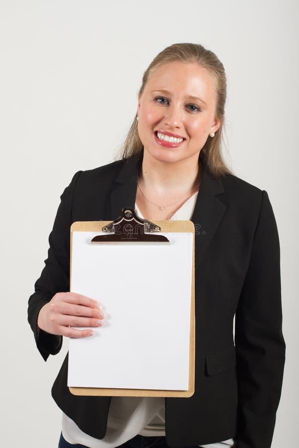 Молодой женский профессионал стоковая фотография