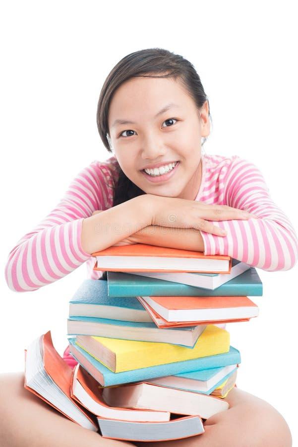 Молодой книгоед стоковые фото