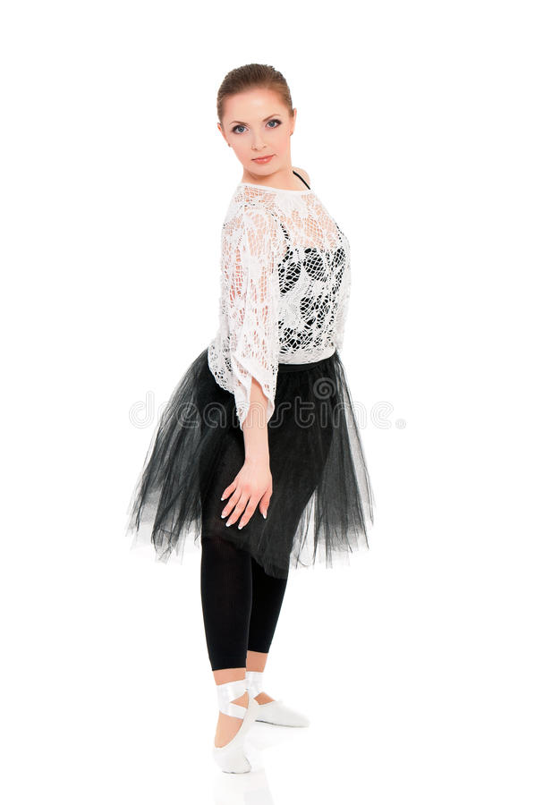 Молодой красивый артист балета стоковые изображения