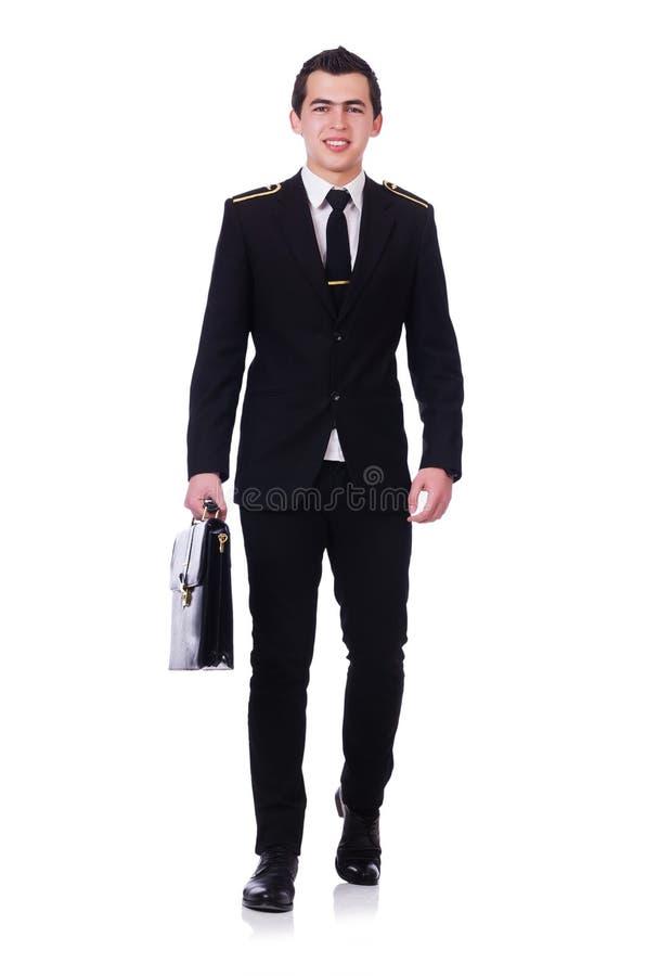 Молодой пилот стоковое фото