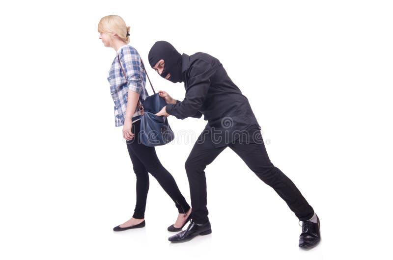 Молодой похититель стоковая фотография
