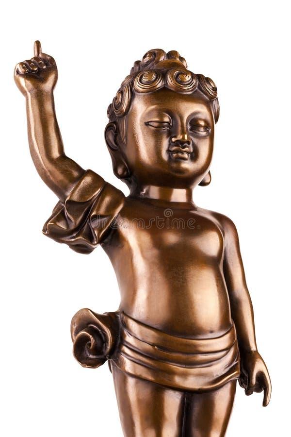 Молодой принц Siddhartha Gautama стоковые фотографии rf