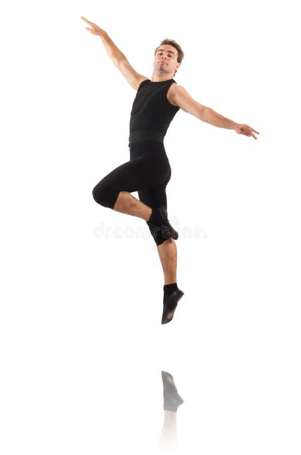 Молодой танцор стоковые фотографии rf