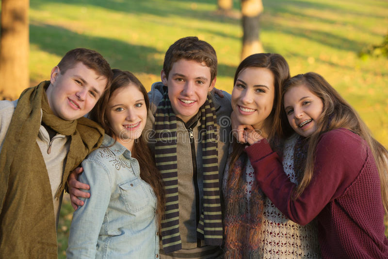 Молодость 5 Outdoors стоковое фото rf
