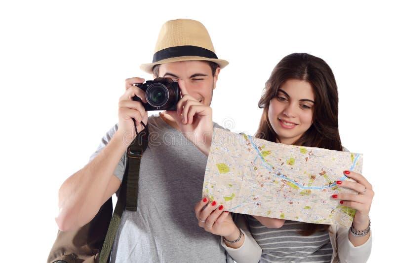 Молодые пары на отключении стоковые фото