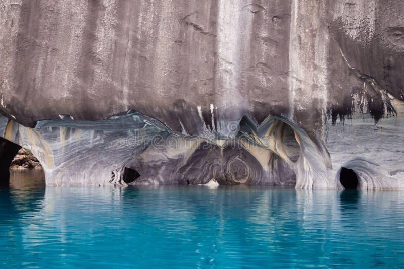 Мраморная деталь собора в генерале Carrera озера, Чили PAT стоковое фото