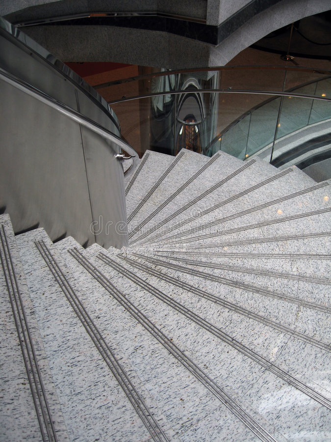 мраморная лестница стоковые фотографии rf