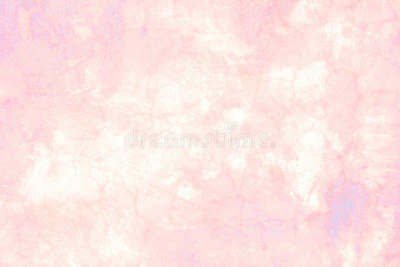 Мраморная предпосылка в пастельных тенях пинка стоковое изображение