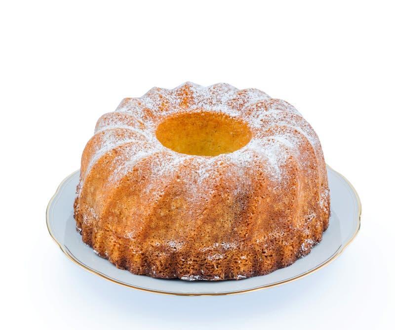 Мраморный торт стоковое фото