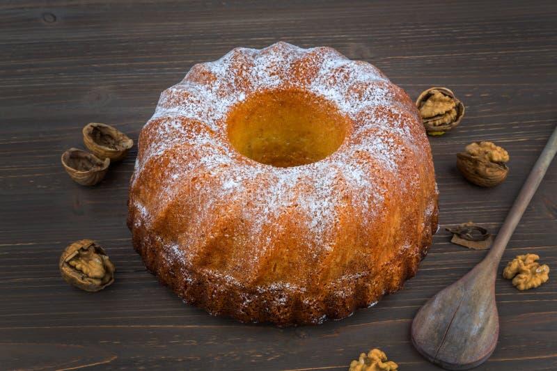 Мраморный торт стоковая фотография