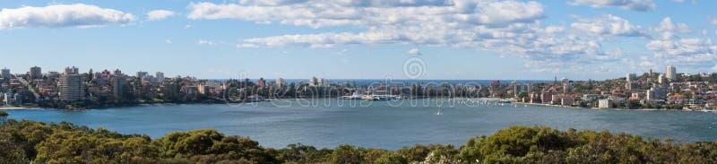 Мужественный причал Австралия - панорамная стоковая фотография rf