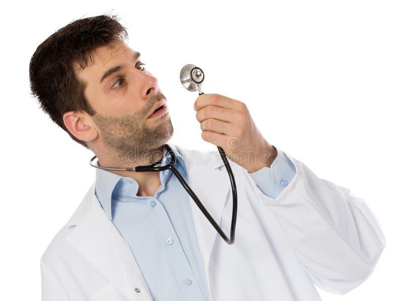 Мужской доктор, концепция здравоохранения и медицина стоковая фотография