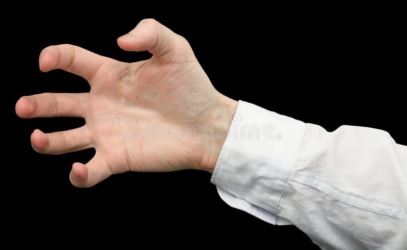 мужчина руки стоковые фотографии rf