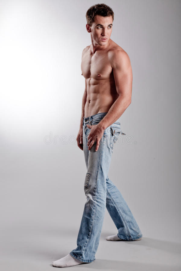 мужчина способа стоковая фотография rf