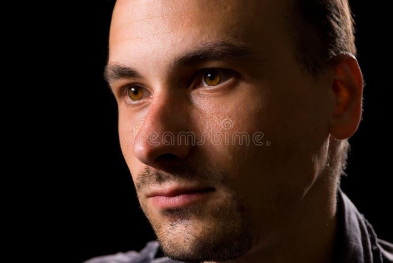 мужчина стороны стоковые фотографии rf