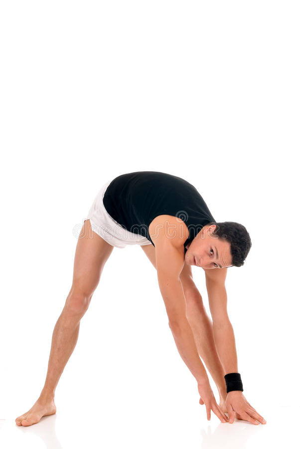 мужчина ftiness спортсмена стоковое фото rf