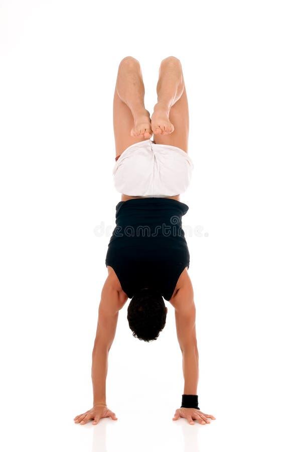 мужчина ftiness спортсмена стоковые изображения