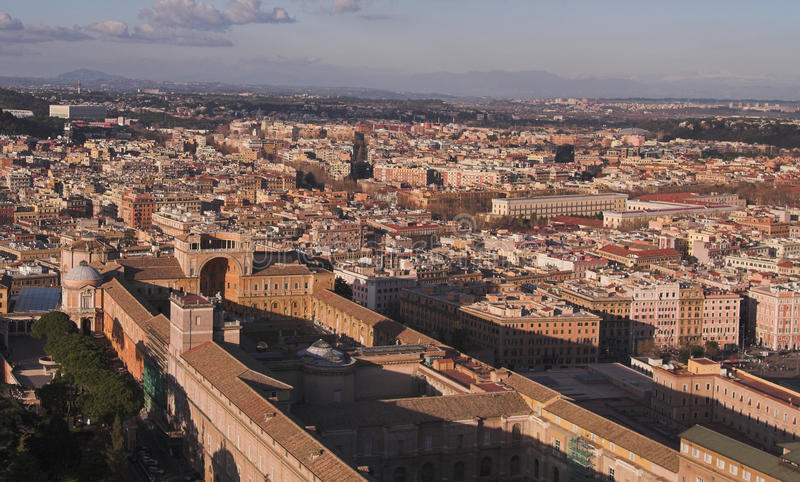 музеи к взгляду vatican стоковые фото