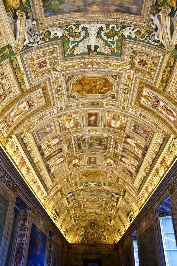 музеи rome vatican Италии стоковое фото rf